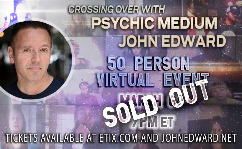 50 Person Virtual Event March 6